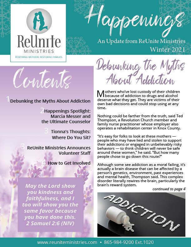 ReUnite Winter 2021 Newsletter